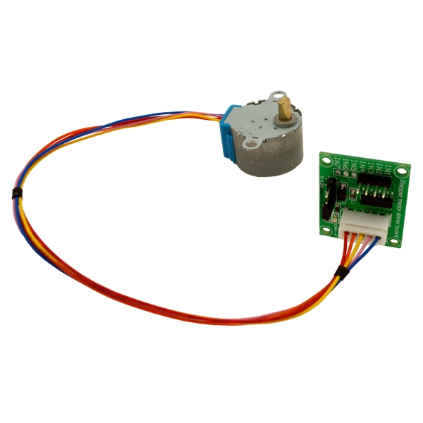 Arduino library stepper motor uln2003 ace for Stepper motor controller software freeware