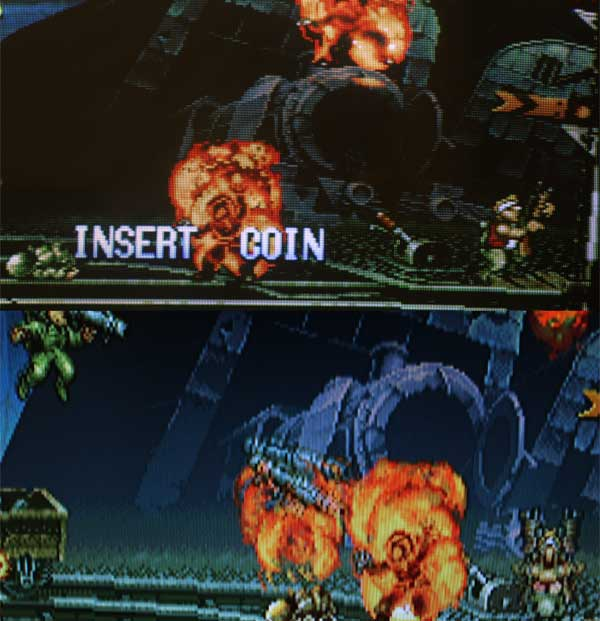 Differenza 3 Metal Slug LCD CRT