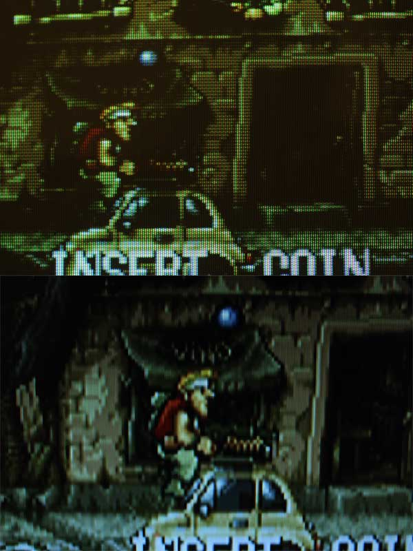 Differenza 2 Metal Slug LCD CRT