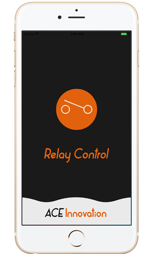 iOS Application ACE Relay Control