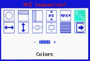 OSD x2VGA convertitore video